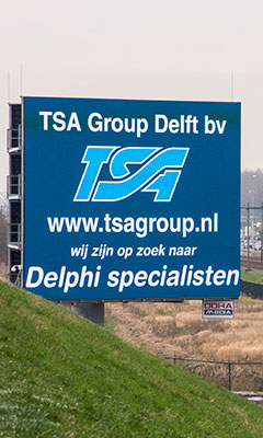 TSA Group Delft bv - led advertentie A12 Zoetermeer - wij zijn op zoek naar Delphi specialisten
